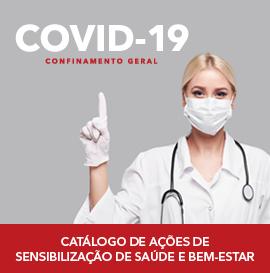 COVID-19 Catálogo de Ações de Sensibilização de Saúde e Bem-Estar